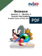 Sci10_SLM_Mod3_PlateTectonics