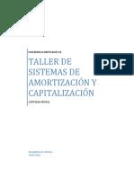 TALLER SISTEMAS DE AMORTIZACIÓN Y CAPITALIZACIÓN.pdf