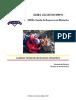 Caderno Técnico de Percursos Pedestres