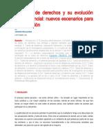 20-09-2020 - La tutela de derechos y su evolución jurisprudencial