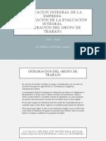 presentacion 2 Evaluación Integral