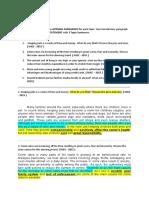 Model Intro paragraphs