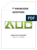AUC-Knowledge Questions