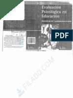 Querol y Chaves Paz (2004). Test de la Persona Bajo la Lluvia (educativo)