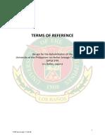 UPLB STP DAED TOR June 21 2018