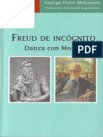 Freud de Incógnito. Danza con Moisés.