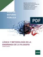 GuiaPublica_Logica y metodologia en la enseñanza de la filos