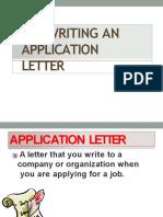 Media Pembelajaran Materi Application Letter