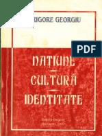 Georgiu, Grigore - Tensiunea identitatilor regasite