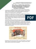 TEMA 1 PANORÁMICA DE LA LITERATURA ESPAÑOLA DEL SIGLO XIX
