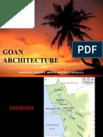 Goan Architecture