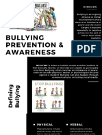 Bullying Prevention and Awareness