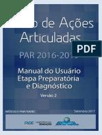 MANUAL PAR 2016-2019 - Etapa Diagnstico - Verso II - set-2017