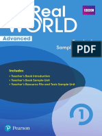 Real World Advanced Teacher's Sample Material L1