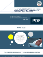 Asociación de  LA apnea obstructiva del sueño con