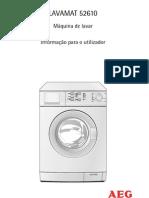Máquina de Lavar AEG