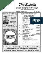 Ut Bulletin February 2011