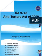 Anti Torture Act RA 9745