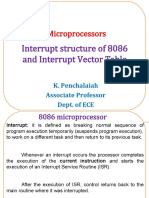 Interrupt structure and processing of 8086.ppt
