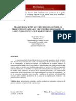 Gómez, M. E. y Suevo, G. (2014). -Transformaciones y evolución de los perfiles productivos pampeanos y economías regionales en los últimos veinte años_ similitudes y contrastes-.