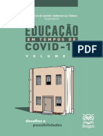 Editora BAGAI - Educação em tempos de Covid-19 - Volume 2