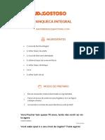 Panqueca Integral