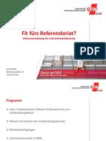 Fit fürs Ref Dortmund WS 2015_16