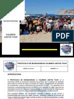 EJEMPLO DE UN PROTOCOLO DE BIOSEGURIDAD PARA AGENCIA DE VIAJES TURISTICOS