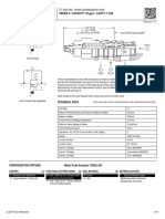 Sun Hydraulics CWEL Technical Specifications