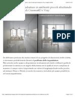 Migliorare le inquadrature in ambienti piccoli sfruttando i piani di clipping di Cinema4D e Vray | Angelo Ferretti