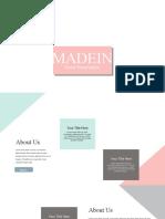 pink pastel free presentation