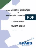 Manual de Operacion y Mantenimiento Dumper Paus D-16.pdf