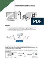 Componentes y sus funciones en una Fuente de Alimentacion
