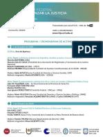 FCJS - Programa 1er Congreso Federal Afianzar La Justicia 2020