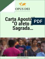 "O afeto à Sagrada Escritura - ""Sacrae Scripturae affectus"""