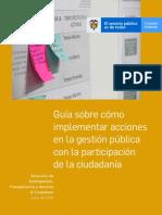 Guía sobre cómo implementar acciones en la gestión pública con la participación de la ciudadanía - Versión 1 - Julio 2019.pdf