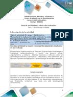 Guia de actividades y Rúbrica de evaluación - Reto 3 Aprendizaje Unadista