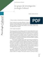 Historia de Psicologia cultural