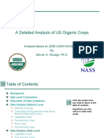 A Detailed Analysis of US Organic Crops