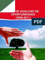 Plan de Igualdad de Oportunidades (2008-2011)