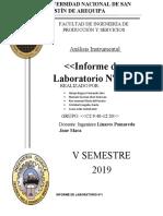 INFORME DE LABORATORIO Nº1