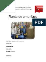 planta de amoniaco