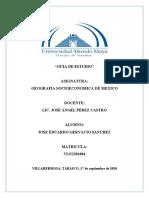 GUIA DE ESTUDIO (GEOGRAFIA SOCIOECONOMICA)