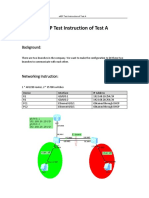 eNSP Test intruction of Test A