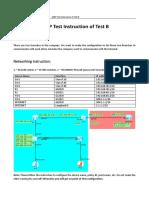 eNSP Test intruction of Test B