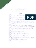 Complete Bibliography of Sebastian Kappen