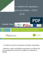 Apresentação da UFCD 10330