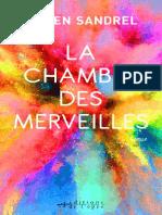 Julien Sandrel - La Chambre des  merveilles