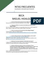 Beca Miguel Hidalgo 2020 Guanajuato