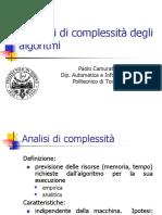 02 L'analisi della complessità